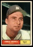 1961 Topps #37  Charlie Maxwell  Front Thumbnail