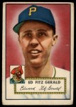 1952 Topps #236  Ed Fitzgerald  Front Thumbnail