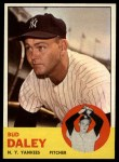1963 Topps #38   Bud Daley Front Thumbnail