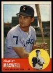 1963 Topps #86   Charley Maxwell Front Thumbnail