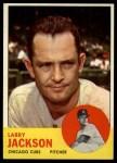 1963 Topps #95   Larry Jackson Front Thumbnail