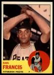 1963 Topps #303   Earl Francis Front Thumbnail