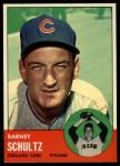 1963 Topps #452   Barney Schultz Front Thumbnail