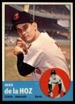 1963 Topps #561   Mike de la Hoz Front Thumbnail