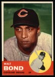 1963 Topps #493   Walt Bond Front Thumbnail