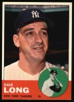 1963 Topps #484   Dale Long Front Thumbnail