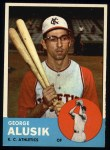 1963 Topps #51   George Alusik Front Thumbnail