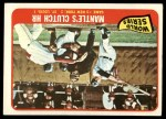 1965 Topps #134  1964 World Series - Game #3 - Mantle's Clutch HR  -  Mickey Mantle / Barney Schultz / Tim McCarver Front Thumbnail