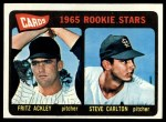 1965 Topps #477   Cardinals Rookie Stars  -  Steve Carlton / Fritz Ackley Front Thumbnail
