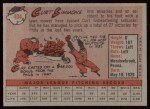 1958 Topps #404   Curt Simmons Back Thumbnail