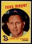 1959 Topps #482   Russ Meyer Front Thumbnail