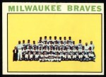 1964 Topps #132   Braves Team Front Thumbnail