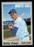 1970 Topps #695   Bobby Knoop Front Thumbnail