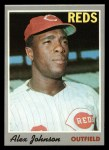1970 Topps #115  Alex Johnson  Front Thumbnail