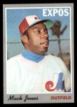 1970 Topps #38   Mack Jones Front Thumbnail