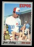 1970 Topps #238  Jose Laboy  Front Thumbnail