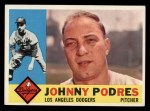 1960 Topps #425   Johnny Podres Front Thumbnail