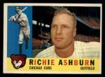 1960 Topps #305   Richie Ashburn Front Thumbnail