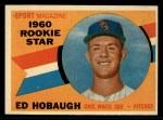 1960 Topps #131  Rookie Stars  -  Ed Hobaugh Front Thumbnail