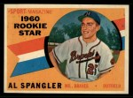 1960 Topps #143  Rookie Stars  -  Al Spangler Front Thumbnail