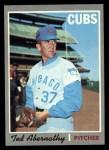 1970 Topps #562  Ted Abernathy  Front Thumbnail
