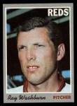 1970 Topps #22   Ray Washburn Front Thumbnail