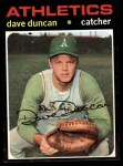 1971 Topps #178   Dave Duncan Front Thumbnail