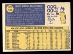 1970 Topps #132   Jim McGlothlin Back Thumbnail