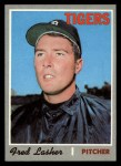 1970 Topps #356   Fred Lasher Front Thumbnail