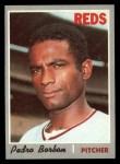 1970 Topps #358   Pedro Borbon Front Thumbnail
