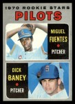 1970 Topps #88  Pilots Rookies  -  Dick Baney / Miguel Fuentes Front Thumbnail