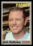 1970 Topps #284   Jack Baldschun Front Thumbnail