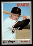 1970 Topps #651  Jim Gosger  Front Thumbnail