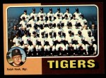1975 Topps #18  Tigers Team Checklist  -  Ralph Houk Front Thumbnail