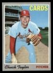 1970 Topps #119   Chuck Taylor Front Thumbnail