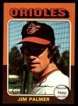 1975 Topps #335   Jim Palmer Front Thumbnail