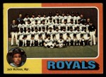 1975 Topps #72  Royals Team Checklist  -  Jack McKeon Front Thumbnail