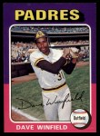 1975 Topps #61   Dave Winfield Front Thumbnail