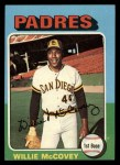 1975 Topps #450   Willie McCovey Front Thumbnail
