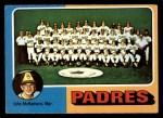 1975 Topps #146  Padres Team Checklist  -  John McNamara Front Thumbnail