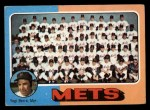 1975 Topps #421  Mets Team Checklist  -  Yogi Berra Front Thumbnail
