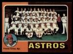 1975 Topps #487  Astros Team Checklist  -  Preston Gomez Front Thumbnail