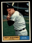1961 Topps #470   Roy Sievers Front Thumbnail