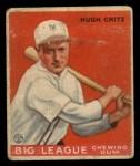 1933 Goudey #3  Hugh Critz  Front Thumbnail
