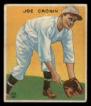 1933 Goudey #109  Joe Cronin  Front Thumbnail