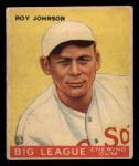 1933 Goudey #8   Roy Johnson Front Thumbnail