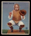 1933 Goudey #210   Virgil Davis Front Thumbnail
