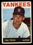 1964 Topps #395   Tom Tresh Front Thumbnail