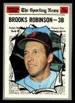 1970 Topps #455  All-Star  -  Brooks Robinson Front Thumbnail