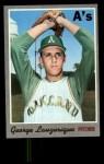 1970 Topps #41   George Lauzerique Front Thumbnail